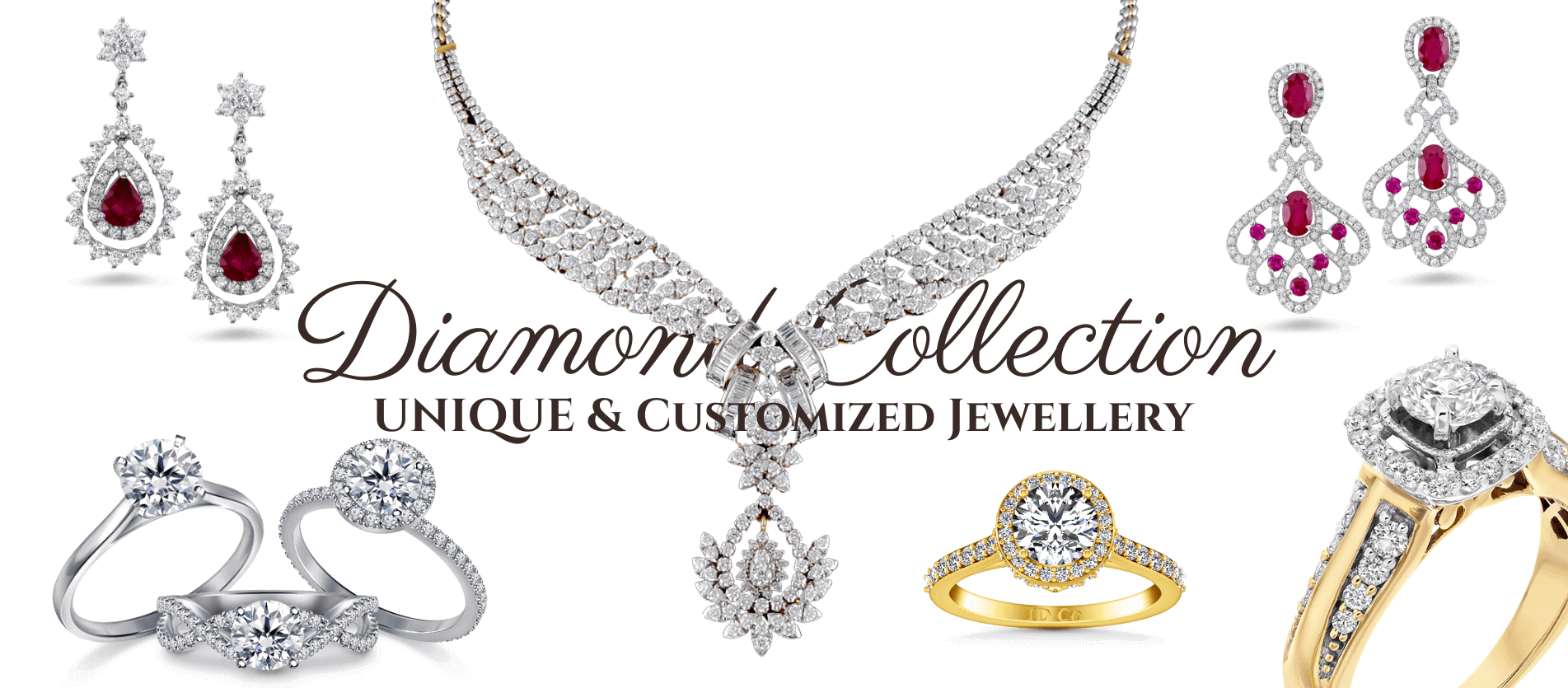Diamond Jewellery Collection - হীরার গহণা - by Gems Jewellers & Gems Stone